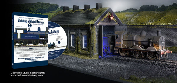 Part 2 of Build a Model Railway with weathered locomotive