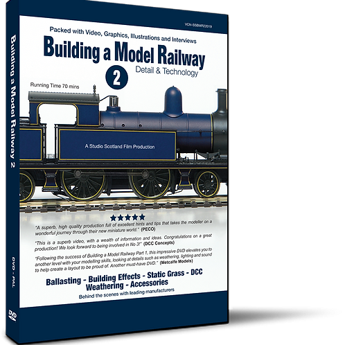Building a Model Railway 2 - Detail & Technology (DVD)
