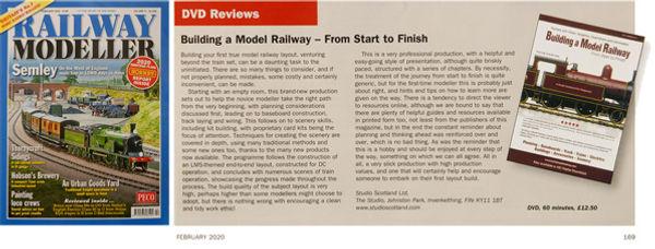 Railway Modeller's review of Build a Model Railway DVD