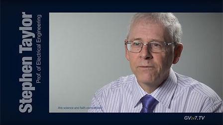 Prof. Stephen Taylor ( Nanotechnology, Electromagnetics and Mass Spectrometry) speaking for Global Vision TV