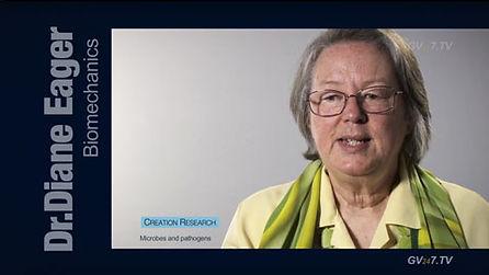 Dr. Diane Eager (Medicine and Biomedical Sciences) speaking for Global Vision TV