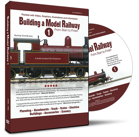 Building a Model Railway 1, DVD case & disc