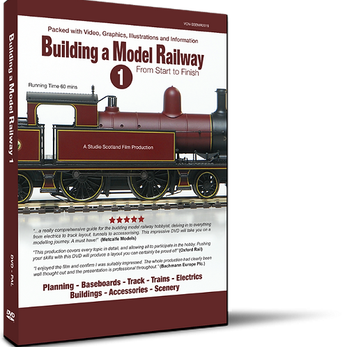 Building a Model Railway 1 - From Start to Finish (DVD)