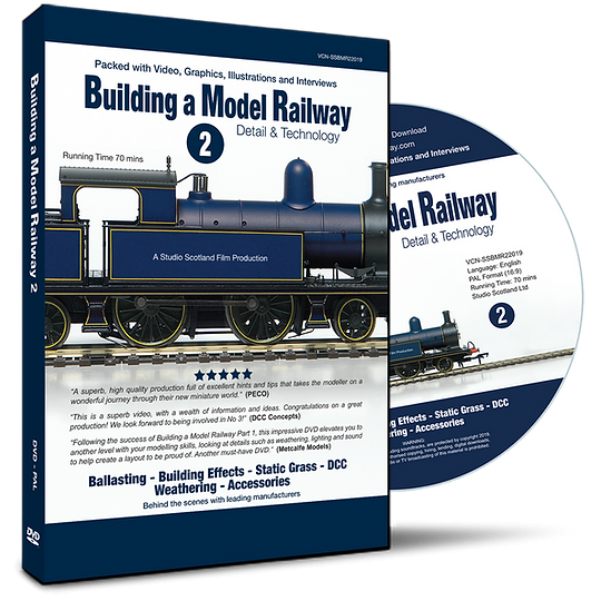 Building a Model Railway 2, DVD case & disc