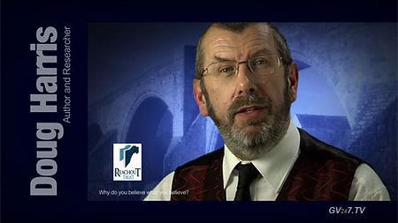 Doug Harris - founder of Reachout Trust - speaking for Global Vision TV