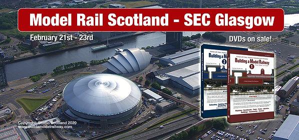 The Model Rail Scotland Exibition in Gasgow