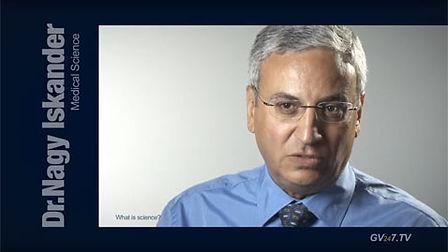 Dr Nagy Iskander (Royal College of Surgeons) speaking for Global Vision TV