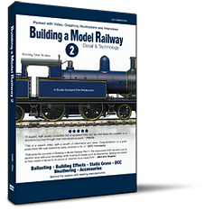 Building a Model Railway 2 DVD is a 70 min production.