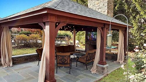 Basic Wood Pavilion 10x12