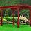 Thumbnail: Basic Wood Pergola 10'x12'