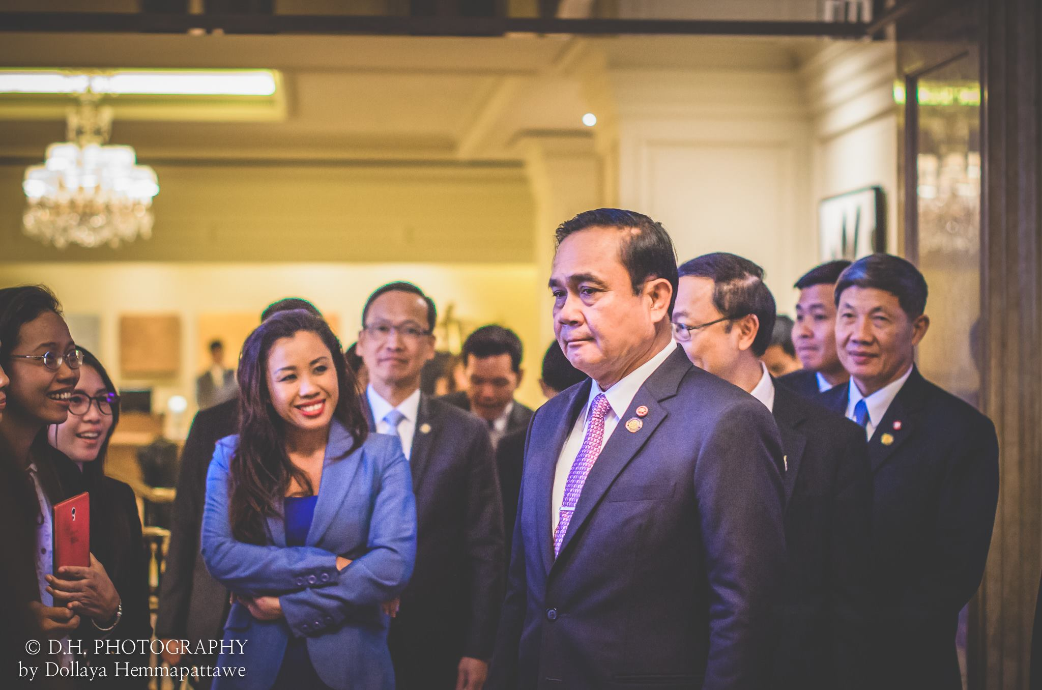 Meeting Prime Minister of Thailand