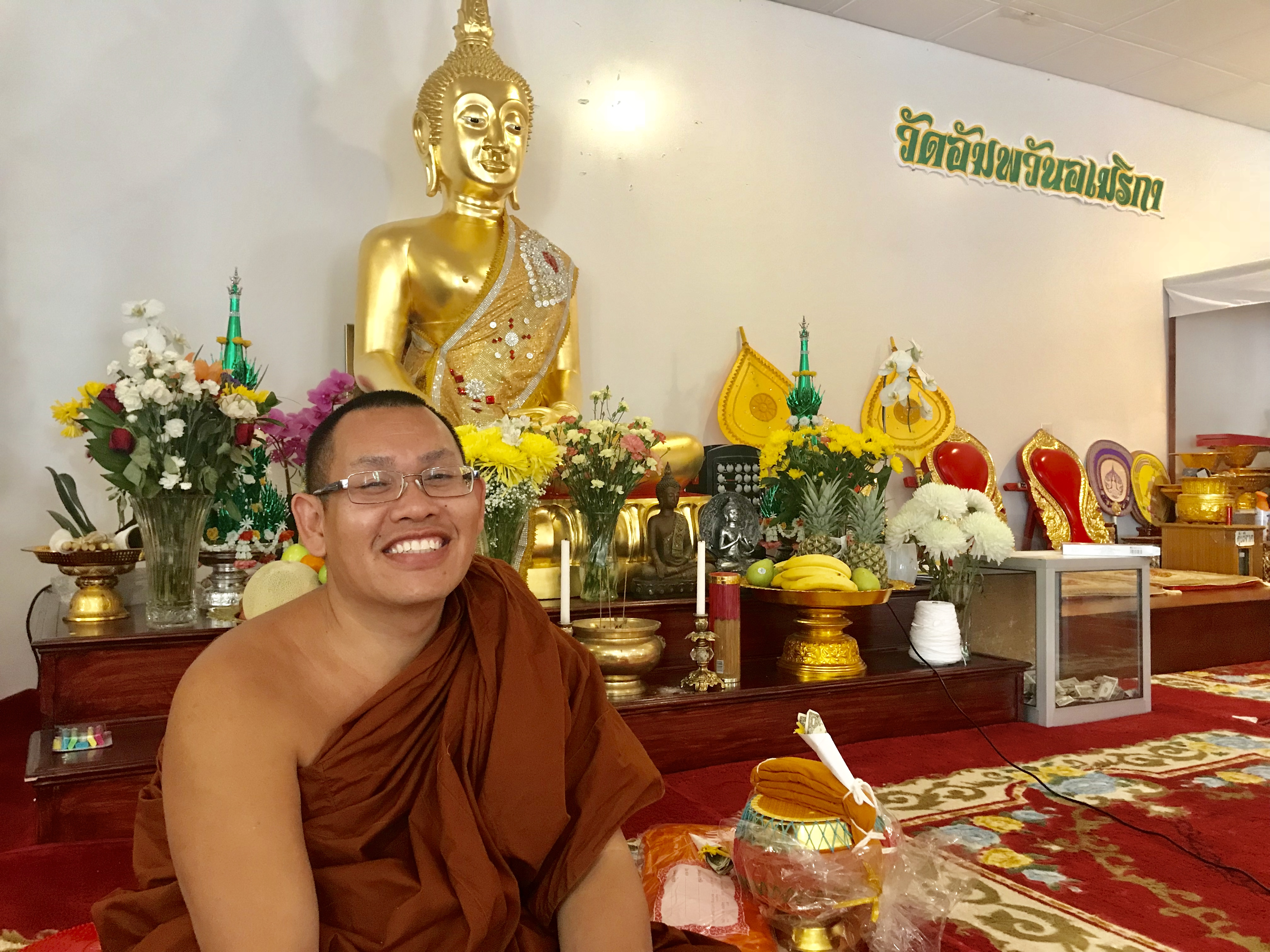 Head Master at Wat Thai