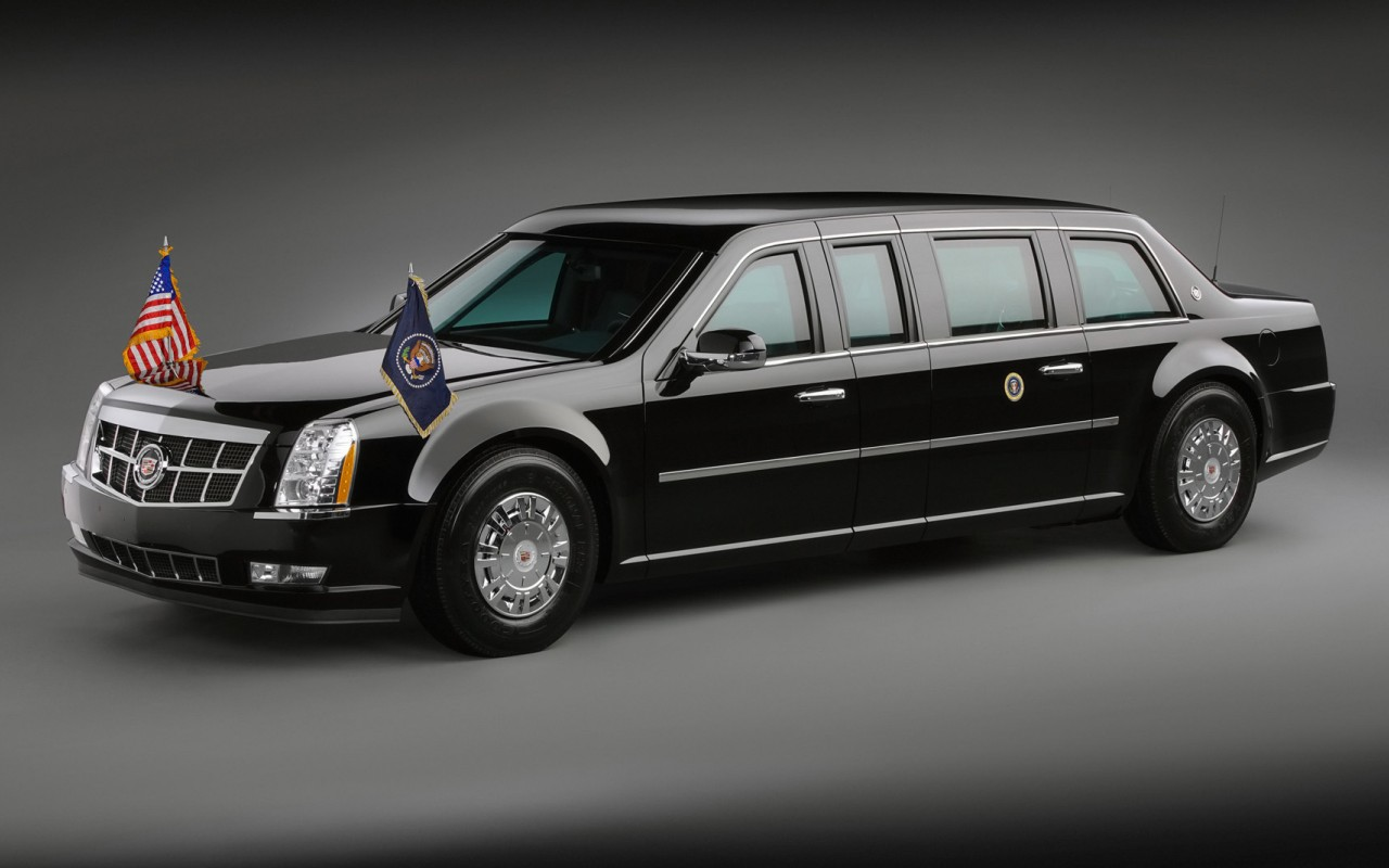Black Car Presidential Limousine
