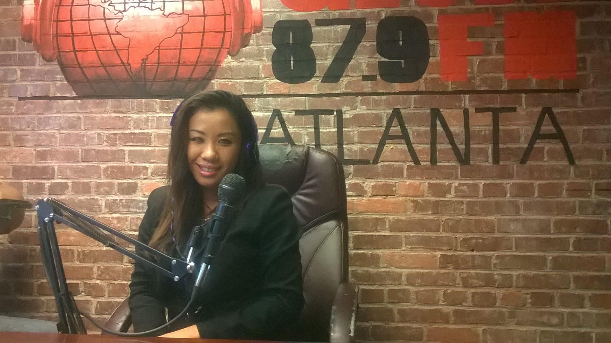 87.9 the globe radio Interview