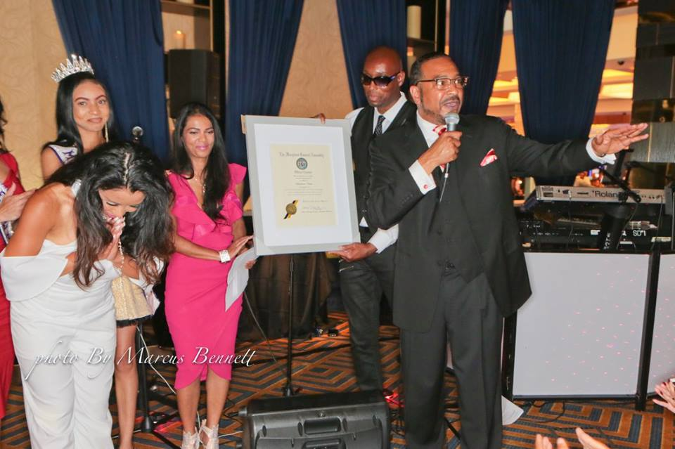 Honoring by Senator C Anthony Muse