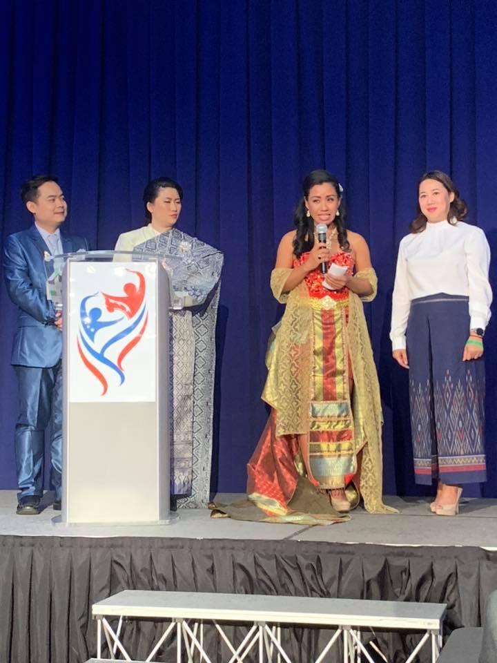 Speaking at NYC Samakkee