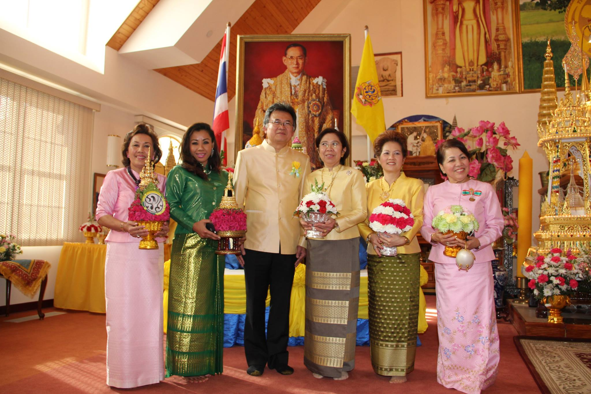 Thailand's King Blessing Ceremony