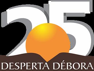 Logo 25 anos do Desperta Débora .png