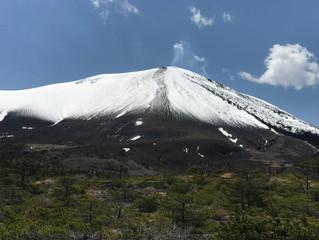浅間山❄️⁉️