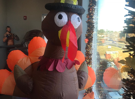 Thanksgiving! Truly one of Acorn Suites favorite Holidays!