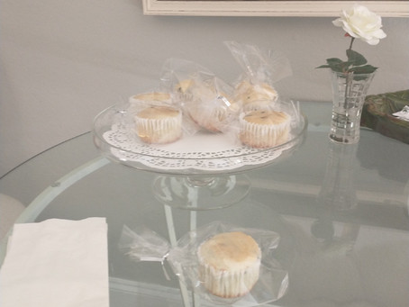 Don't forget the fresh baked muffins! Individually wrapped!