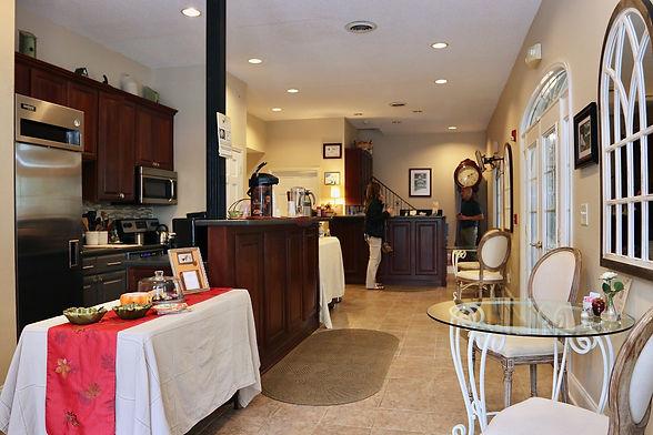 Photo of the front desk at The Acorn Inn Elon