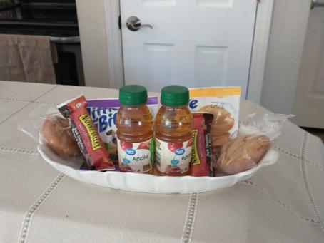In-Suite Breakfast Basket!