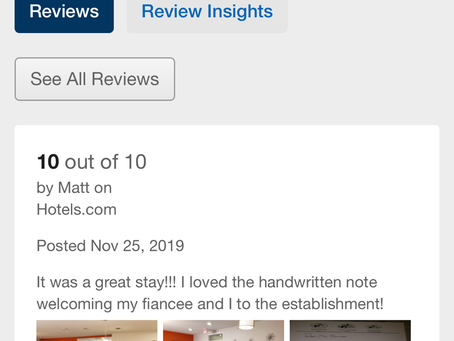 Thank you for your Review! It's awesome to get Feedback and know you made a Guest feel welcomed!