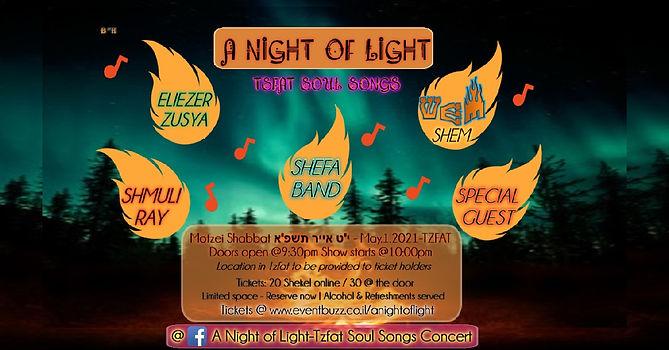 A Night Of Light concert