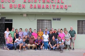 Buen Samaritano Clinic staff and 2019 medical mission team