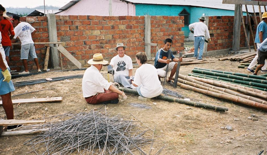 2003 construction mission team begin dental office addition to clinic
