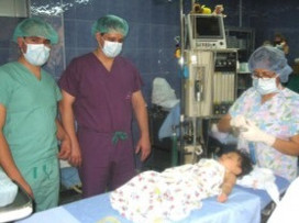 USA Urologist, Dr. Brad Johnson uses St. Luke's surgical suite for circumcisions