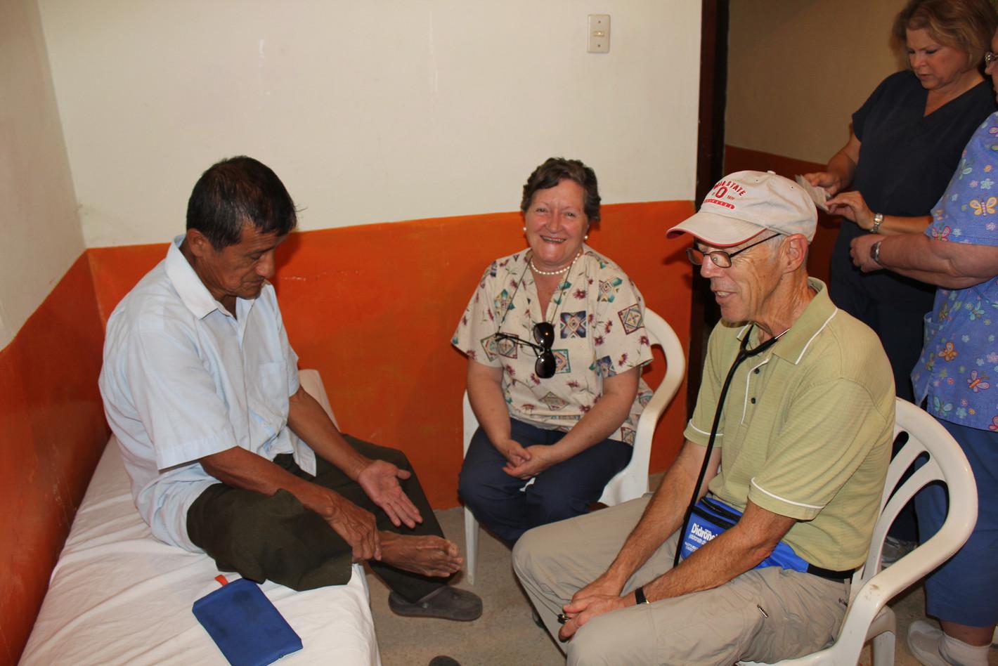Consuelo Donoso, Ecuadorian translator for U.S. MD Allmon and patient in 2014