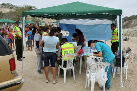Day at the dump medical and dental mission in 2012