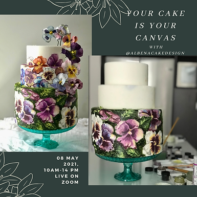 Your Cake Is Your Canvas