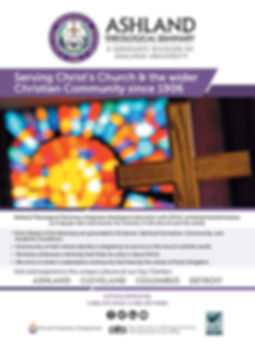 Ashland Theological Seminary Full Page Ad
