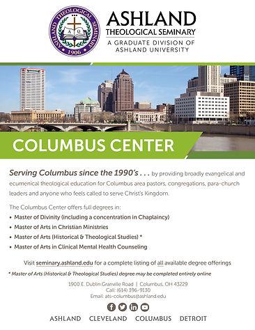 Ashland Theological Seminary Columbus Poster