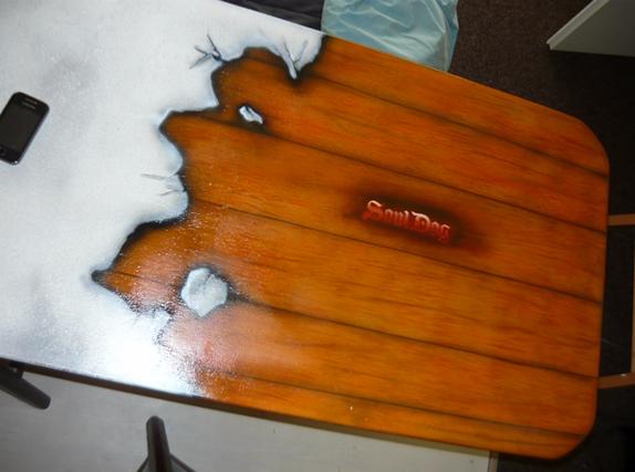 Airbrush bar airbrushed airbrushing