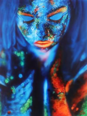 Airbrush Art girl airbrushed airbrushing