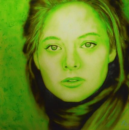 Airbrush Jodie Foster airbrushed airbrushing