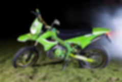airbrush derbi senda custom bike weed theme airbrushed airbrushing