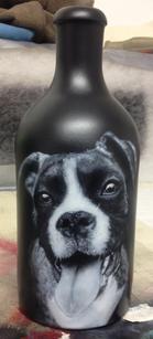 Airbrush Beer Bottle Dog airbrushed airbrushing