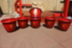 airbrush garden chinese ying yang item airbrushed airbrushing