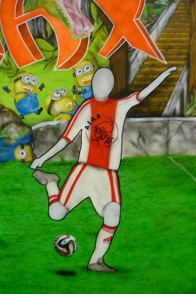 airbrush canvas animals football jungle airbrushed airbrushing darts