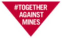 #TogetherAgainstMines Triangle Logo