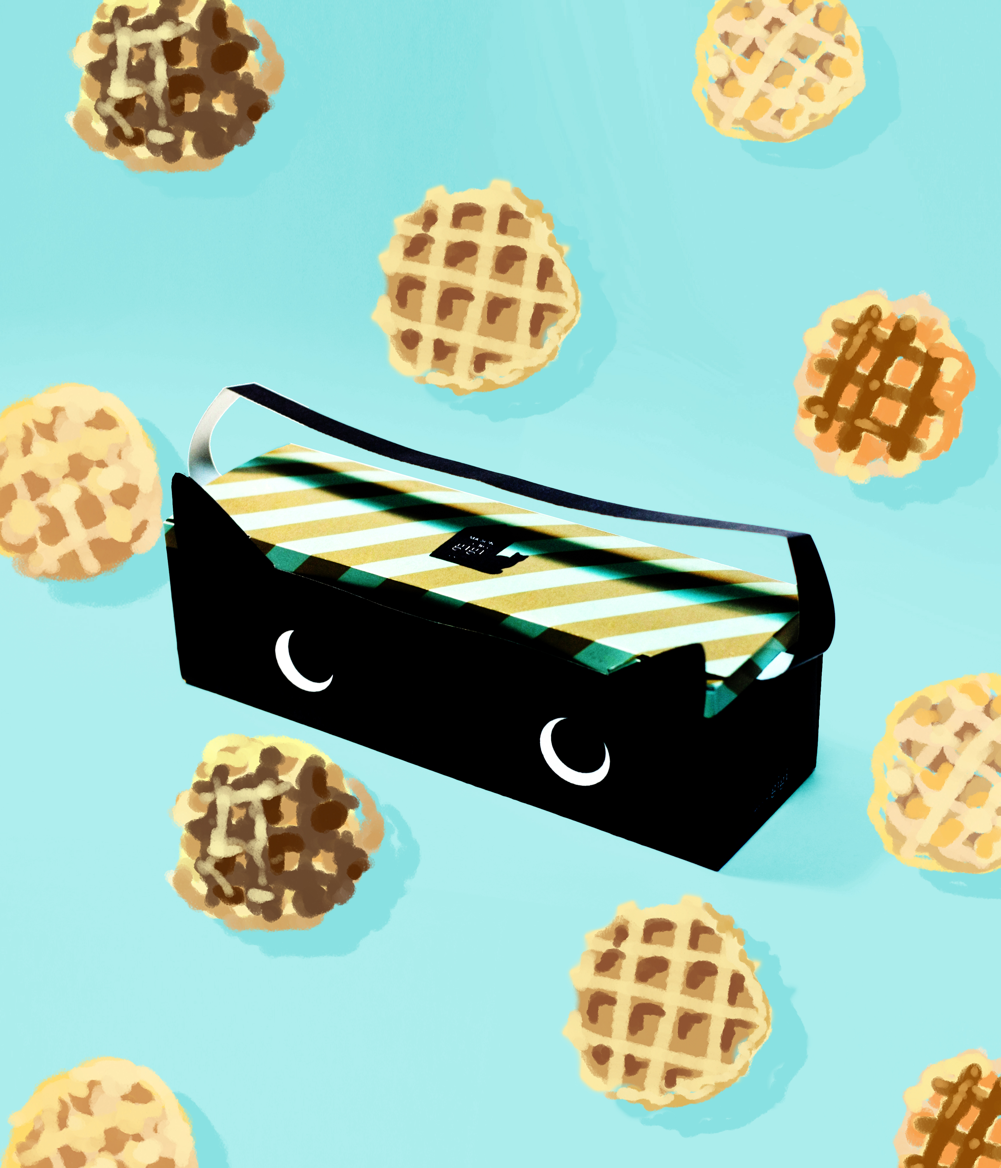 Waffle Box