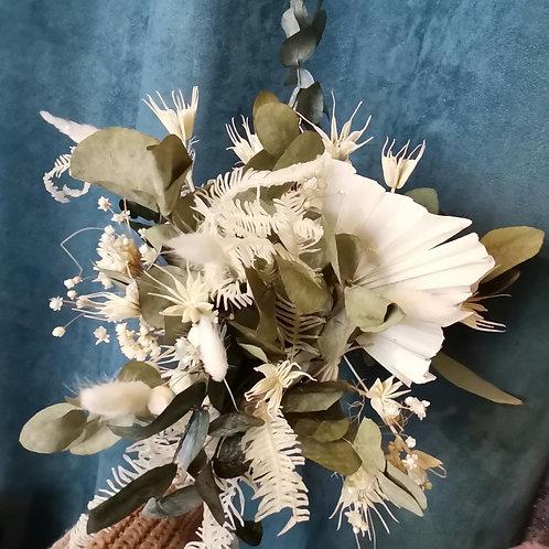Bouquet de fleurs séchées Matin d'hiver - A partir de