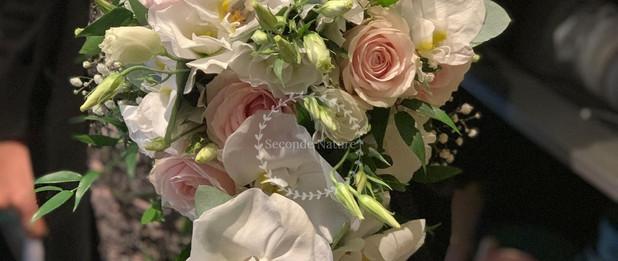 Bouquet de mariée goutte d'eau