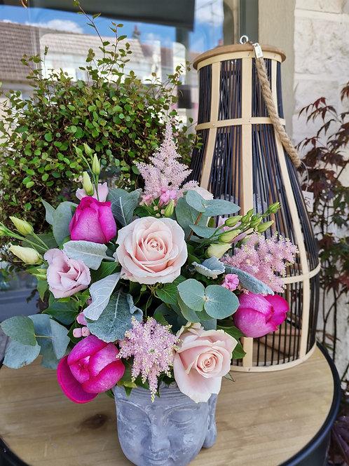 Bouquet Camaïeu de rose