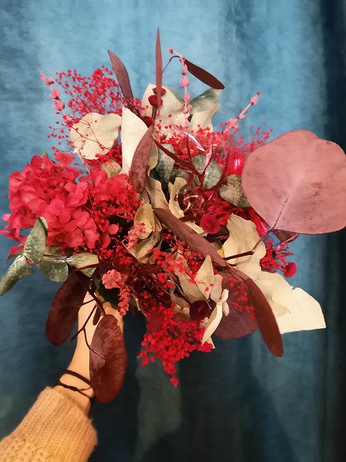 Bouquet de fleurs séchées Feuilles d'automne - A partir de